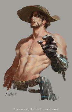 ArtStation - cowboy, 2 Krabat