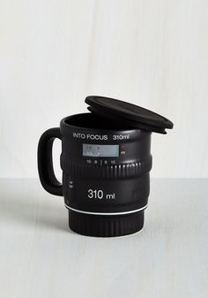 Pour and Shoot Mug - Black, Quirky, Dorm Decor, Urban, Best Seller, Best Seller, Good, Press Placement, Guys, WPI, Top Rated