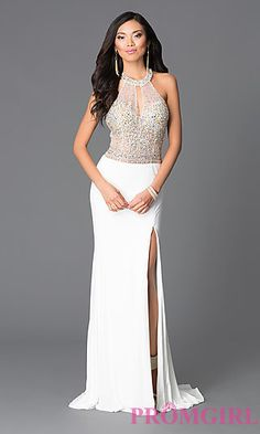 Open Back Long Prom Dress from JVN by Jovani at PromGirl.com