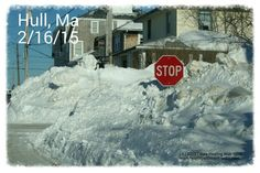 Yup and the snow banks got significantly higher after this storm - Nantasket Beach, Hull, Ma - February 2015 Snow Storm - Laura Healing With Spirit, Spiritual Medium, Speaker, Teacher - www.healingwithspirit.webs.com