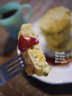 お家でカフェ気分!トウモロコシのパンケーキ by SHIMA /…