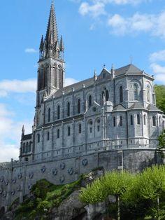 Die berühmte Basilika in Lourdes 2012 privat Fotoaufnahme von Katharina Bach