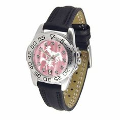 McNeese State Cowboys Ladies Sport Watch with Leather Band and Mother of Pearl Dial by SunTime. $60.30. Rotation Bezel/Timer. Scratch Resistant Face. Calendar Date Function. This handsome, eye-catching watch comes with a genuine leather strap. A date calendar function plus a rotating bezel/timer circles the scratch-resistant crystal. Sport the bold, colorful, high quality McNeese State Cowboys logo with pride.The hypnotic iridescence of our natural blush mother of pearl c...