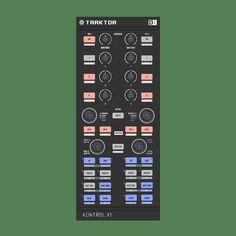 Kontrol X1 for Traktor by Native Instruments.