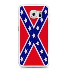 Confederate Rebel Flag Samsung Galaxy S6 Case
