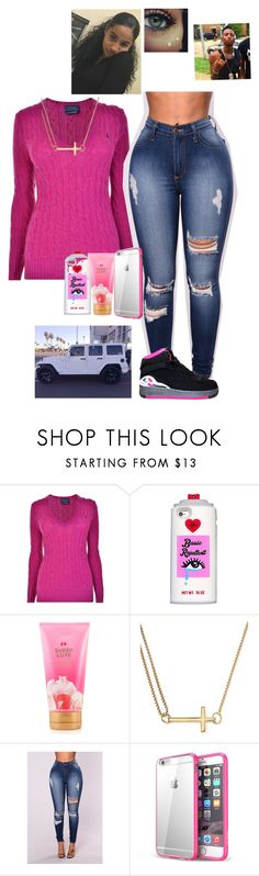 """Pink savage"" by laylakristion on Polyvore featuring Polo Ralph Lauren, Wrangler, Valfré, Victoria's Secret and Alex and Ani"