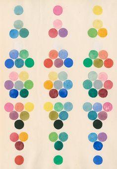 Colour spot chart - AnonymousPrints   The Royal Society