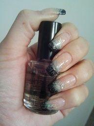 Nail polish design.