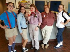 The south-siders on Nerd day!