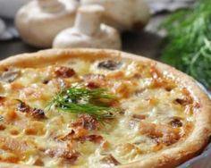 Quiche allégée aux champignons, lardons, jambon et fromage : Savoureuse et équilibrée | Fourchette & Bikini