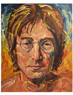 John Lennon by Michael Wardle