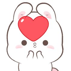 LINE Official Stickers - Happy Bunny Sweetness Example with GIF Animation Cute Cartoon Images, Cute Love Cartoons, Cartoon Gifs, Cute Cartoon Wallpapers, Cute Love Pictures, Cute Love Gif, Cute Love Memes, Cute Kawaii Animals, Kawaii Cat