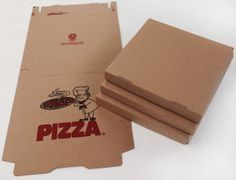 Art Projects for Kids: Portfolio Boxes. Pizza boxes turned inside out to eliminate the printing. Voila!