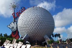 epcot | MICKEY MOUSE SUSTAINABLE FARMING?, EPCOT CENTER, Bucky Ball at Epcot ...