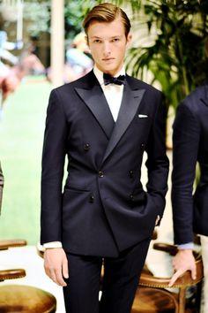 Mens Fashion Night Out Black Pinstripe Suit, Black Tie, Casual Suit, Mens Fashion Suits, Fashion Moda, Fashion Night, Blazers For Men, Wedding Suits, Wedding Tuxedos