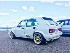 Volkswagen Golf Mk1, Vw Mk1, Custom Car Audio, Custom Cars, Mk 1, Car Mods, Golf 1, Vw Cars, First Car