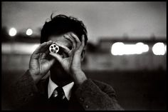 Portrait of Ernst Haas by Elliott Erwitt, California, 1955.