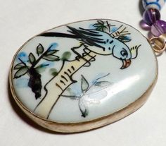 Hey, I found this really awesome Etsy listing at https://www.etsy.com/listing/234521202/pottery-shard-necklace-chinese-necklace