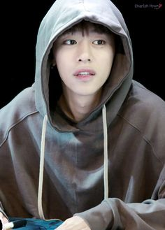 Daehyun -  I'm developing another weakness.. amazing Asian men in soft, warm hoodies..  so comfy and inviting..