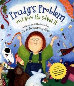 Problem Solving: Prudy's Problem and How She Solved It, by Carey Armstrong-Ellis, to teach story structure - problem and solution. Reading Lessons, Reading Strategies, Reading Skills, Teaching Reading, Comprehension Strategies, Teaching Tips, Reading Comprehension, Reading Street, 2nd Grade Reading