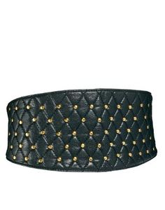 ASOS | ASOS Quilted Obi Waist Belt With Pinstud Detail at ASOS