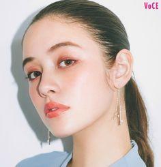 Asian Makeup, Korean Makeup, Makeup Inspo, Makeup Inspiration, Eyeshadow Makeup, Hair Makeup, Japanese Makeup, Glass Skin, Models Makeup