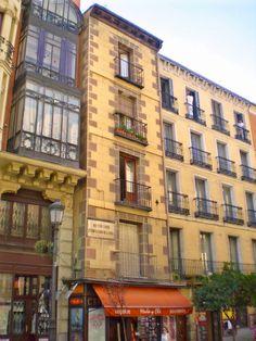 Calle Mayor. Casa en la que vivió y murió Pedro Calderón de la Barca (1681) Madrid