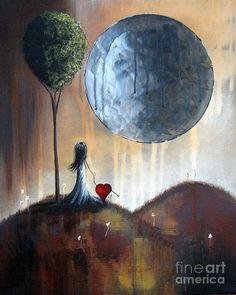 My Bff By Shawna Erback Painting  - My Bff By Shawna Erback Fine Art Print