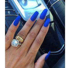 Nail polish: blue nail polish, nail accessories, nails, blue ...