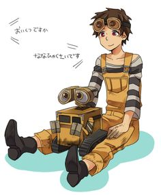 Wall-E | Humanized