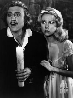 Young Frankenstein Gene Wilder Teri Garr 1974 Tm And Copyright ? Century Fox Film Corp All Rights Reserved Photo. Old Movies, Great Movies, Scary Movies, Movie Stars, Movie Tv, Dna, Teri Garr, Young Frankenstein, Frankenstein Quotes
