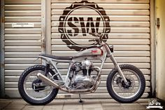 Kawasaki W650 Street Tracker by Jürgen Brand & Schlachtwerk - Picture by Timo Le Mans Photography #motorcycles #streettracker   caferacerpasion.com