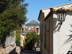 Athens Greece Anafiotika Acropolis