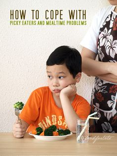 Coping with picky eaters and mealtime problems...some good tips. What helps your family at mealtime? And if you have kids who have gone against the rules and/or mealtime routine(s), what have you done about it?