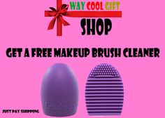 Get a Free Makeup Brush Cleaner! WHILE SUPPLIES LAST! Just Pay Shipping.