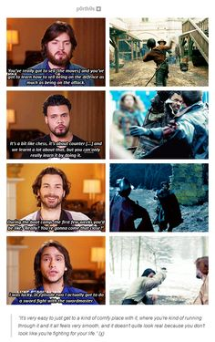 BBC America cast interviews for The Musketeers.