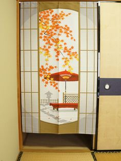 Shyouji no Kouyou Dimensions: 85cm x 150cm / 33.5in x 59.1in Made in Japan