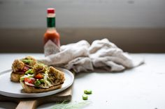 Fried Oyster Toast with Fennel and Fava Bean Salad // Gator Heads Fennel Salad, Tomato Salad, Oyster Recipes, Fried Oysters, Fava Beans, Bean Salad, Recipe Of The Day, Salad Recipes, Fries