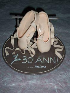 Top per i 30 anni di insegnamento della maestra di danza di mia figlia in p.d.m. - 2012