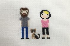 milly and tilly: Cross Stitch Portraits