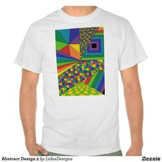 Abstract Design 2 Value T-Shirt #cool #abstract #colourful #colour #art #geometric #illustration #unique #custom #original #creative #design #tshirts