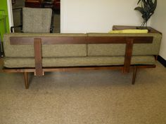 Mid Century MODERN DAYBED Style Sofa by GoModRetro on Etsy