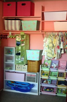 I wish my kids closets looked like this.