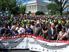 Watch March on Washington 50th Anniversary MLK Speech [LIVE STREAM] | AT2W