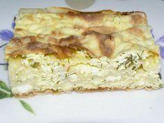 Placinta cu Iaurt - Retete in imagini - Culinar.ro Forum Lasagna, Ethnic Recipes, Food, Eten, Meals, Lasagne, Diet