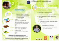 L'alimentation de l'enfant : 2 - 4 ans