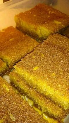 Sweets Cake, Cornbread, Sweet Recipes, French Toast, Recipies, Lemon, Food And Drink, Cooking, Breakfast
