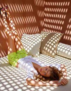 Windswept Summer Spreads : Giedre Dukauskaite by Alexandre Weinberger