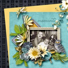 Moments in Time by Feli Designs and a free quickpage for you  #digiscrap #theStudio #Freebie