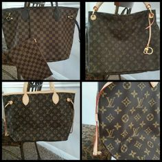 Just Sharing My love for Louis! I love handbags! So much so that I started Emma Rose this year and it has been so much fun. I love searching for deals on Wholesale Designer Handbags website..which I am a proud member of. I love to help find the perfect bag for someone ! Please feel free to check out my store l-a-lux.myshopify.com I am offering 20% off first purchase today only discount code 20%off1x Louis Vuitton Bags Wallets